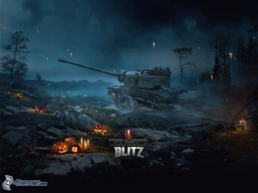 World of Tanks, halloween dynie