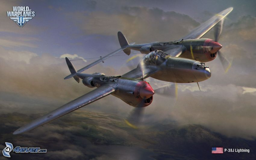 World of warplanes, Lockheed P-38 Lightning