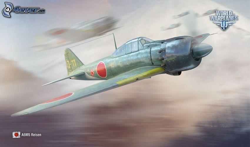 World of warplanes, myśliwce, prędkość