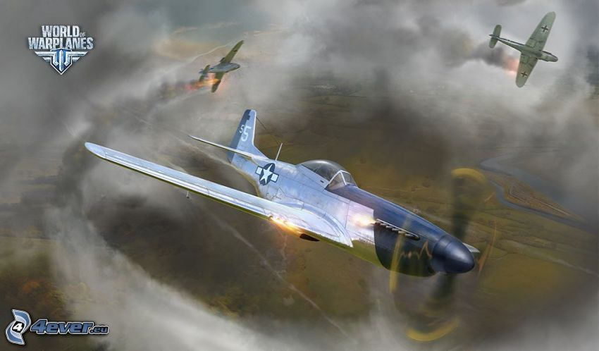 World of warplanes, myśliwce