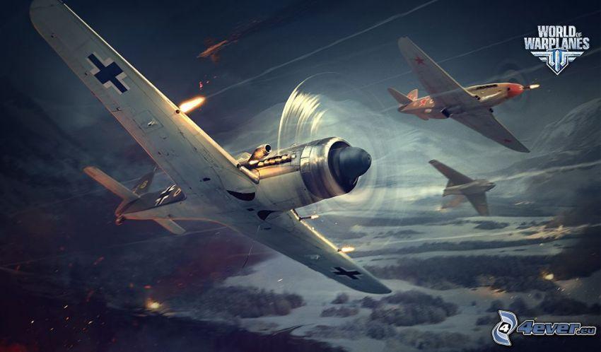 World of warplanes, myśliwiec