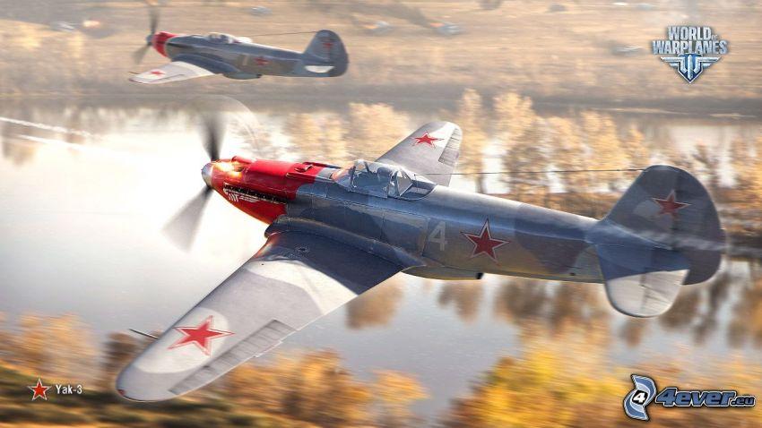 Yak-3, World of warplanes