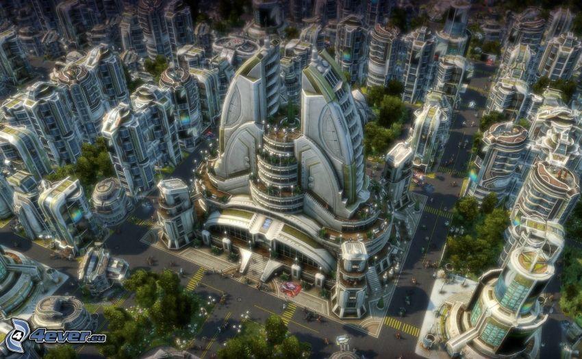 Anno 2070, sci-fi miasta