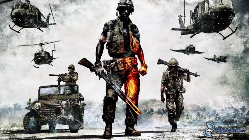 Battlefield 2, żołnierze