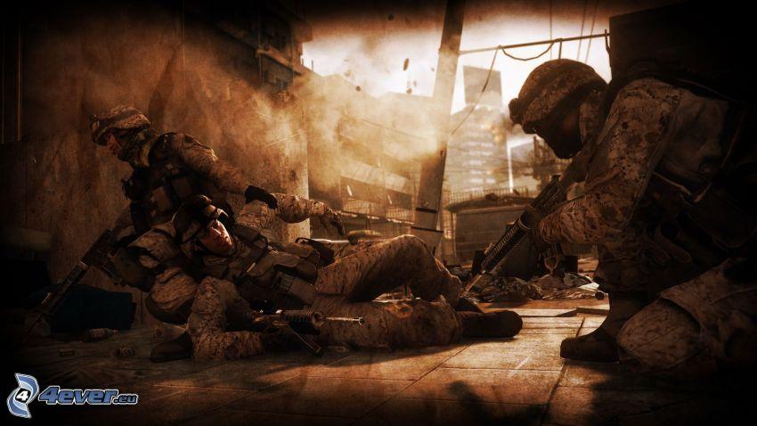 Battlefield 3, żołnierze