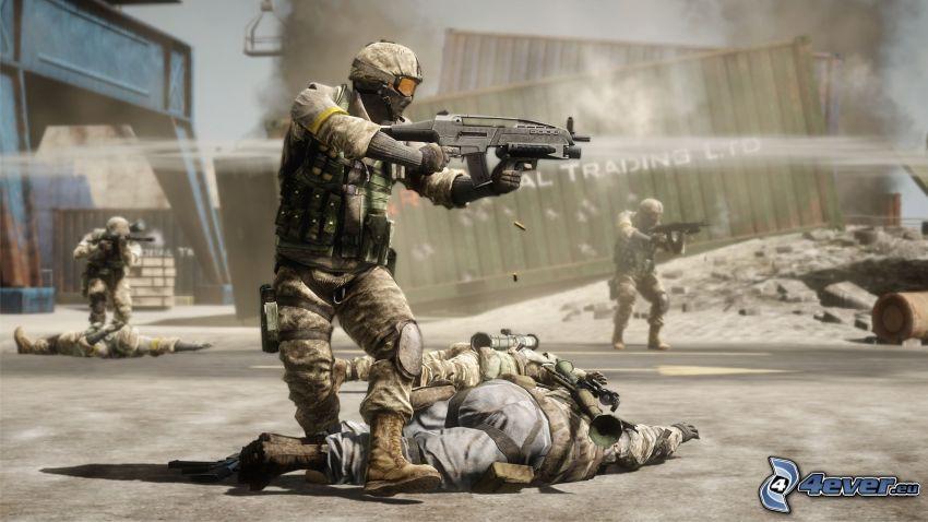 Battlefield: Bad Company 2, żołnierze