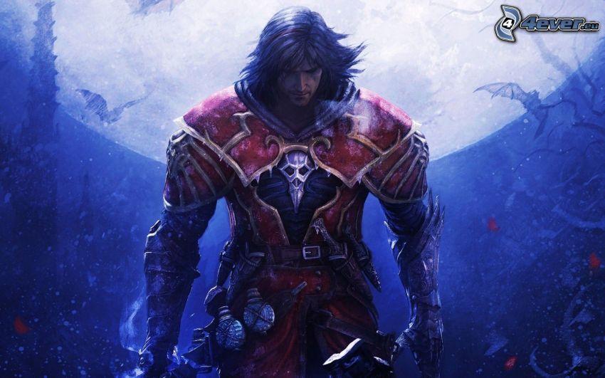 Castlevania: Lords of Shadow, wojownik, księżyc