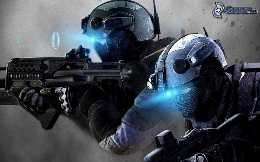Ghost Recon: Future Soldier, żołnierze