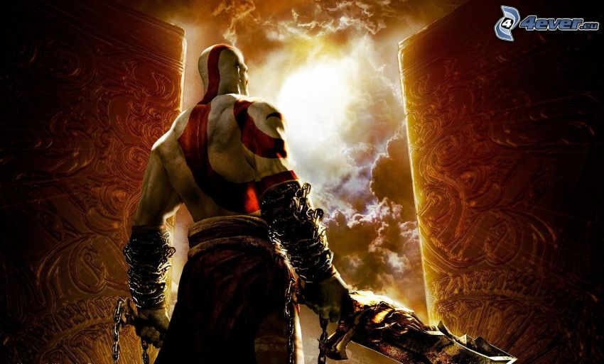 God of War 2, wojownik