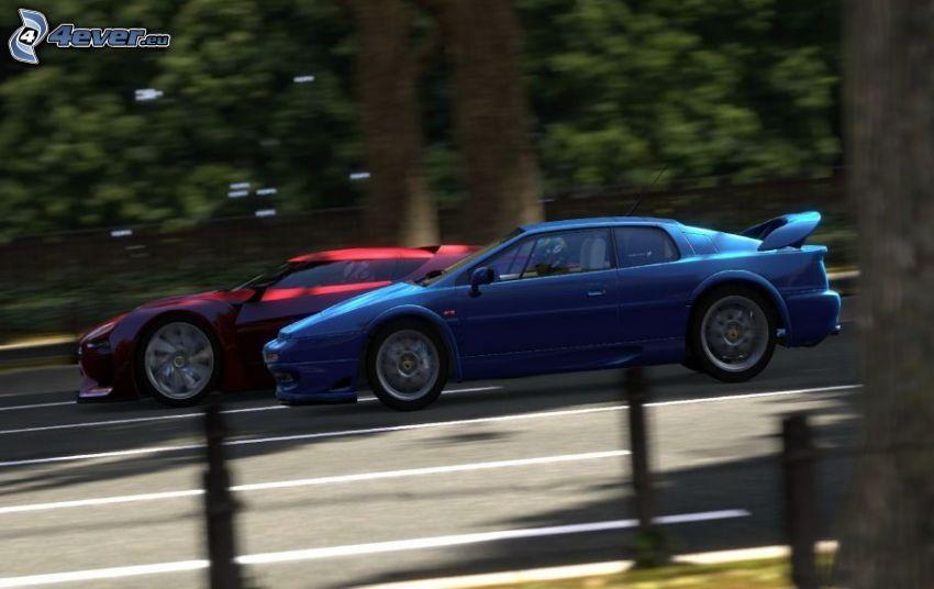 Gran Turismo 5, prędkość