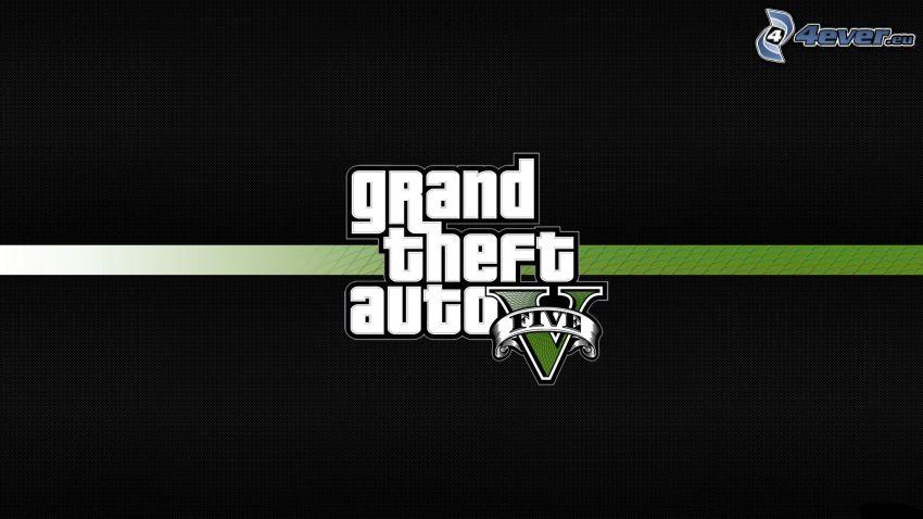 Grand Theft Auto V, logo