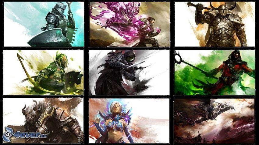 Guild Wars 2, kolaż