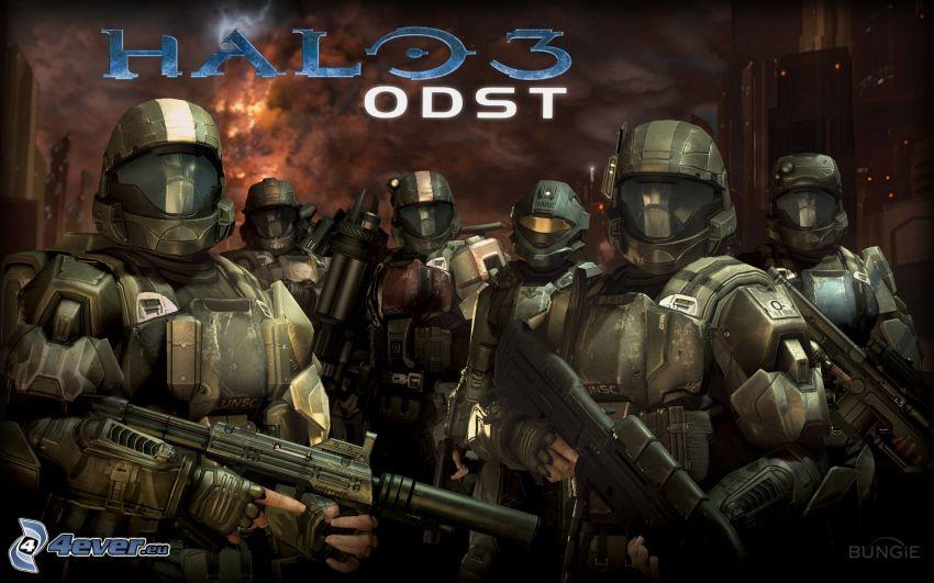 Halo 3: ODST, żołnierze
