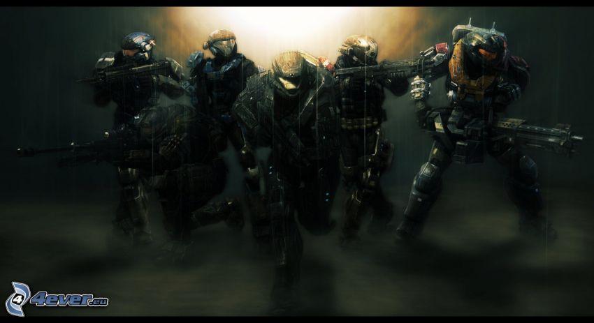 Halo: Reach, żołnierze