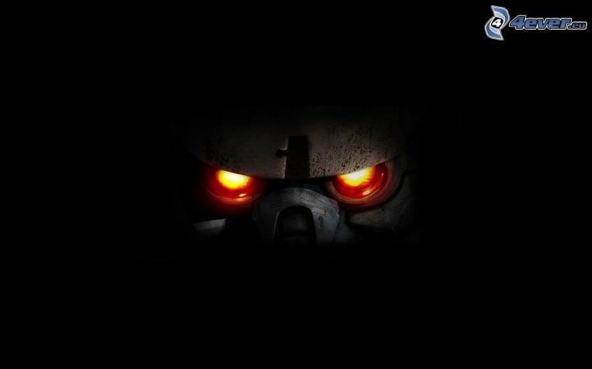 Killzone, czerwone oczy
