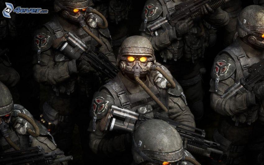 Killzone, żołnierze