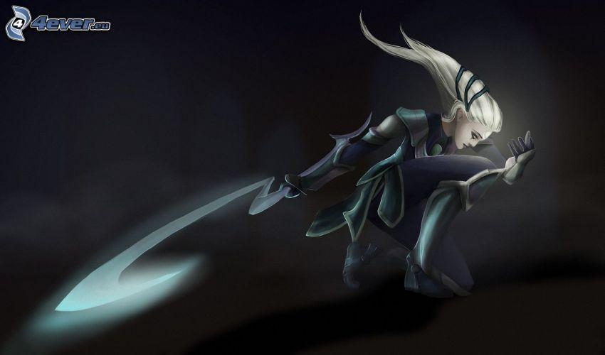 League of Legends, animacyjna dziewczyna