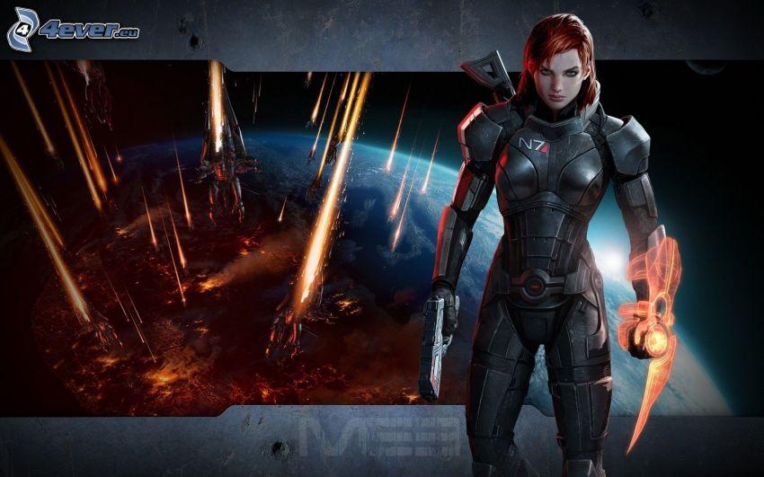 Mass Effect, wojowniczka