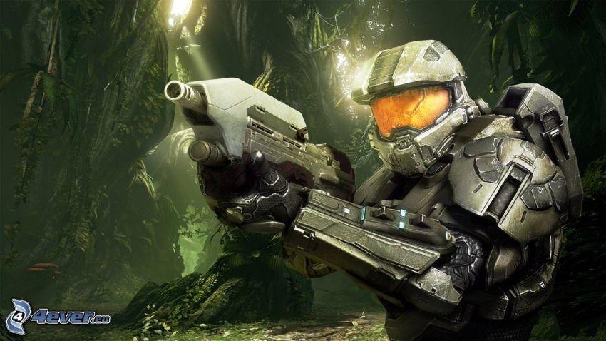 Master Chief - Halo 4, żołnierz