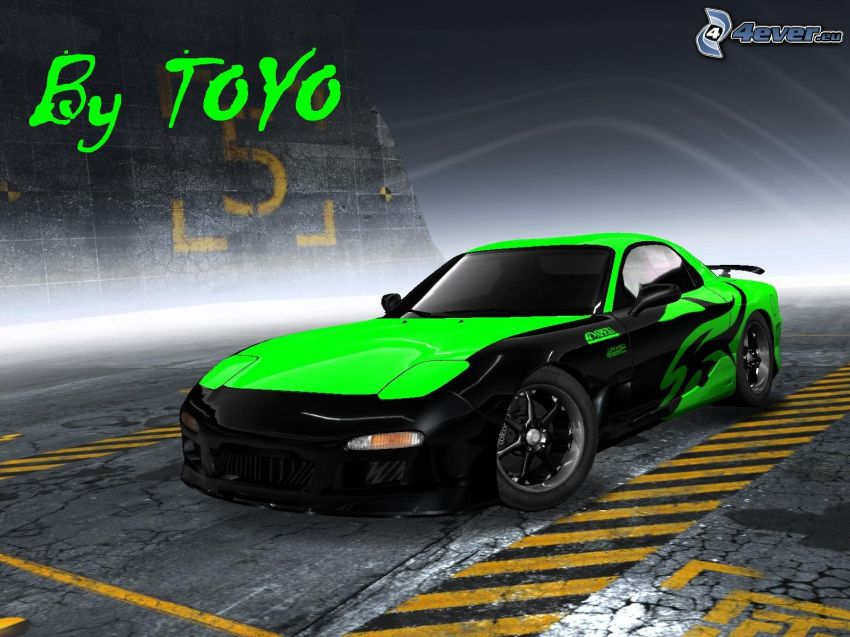 Mazda RX7, tuning, Need For Speed