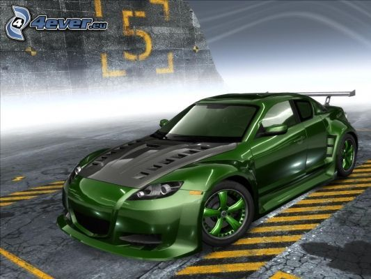 Mazda RX8, tuning, Need For Speed, Pro street