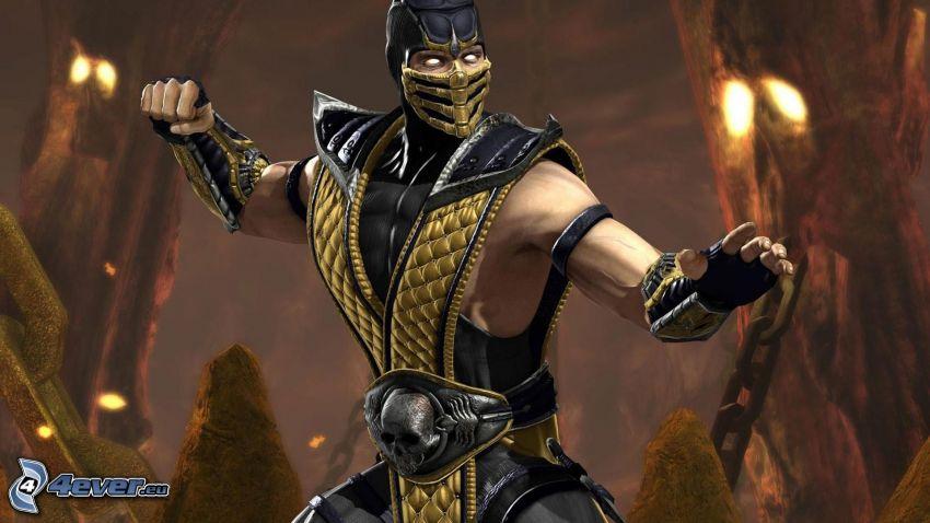 Mortal Kombat, wojownik