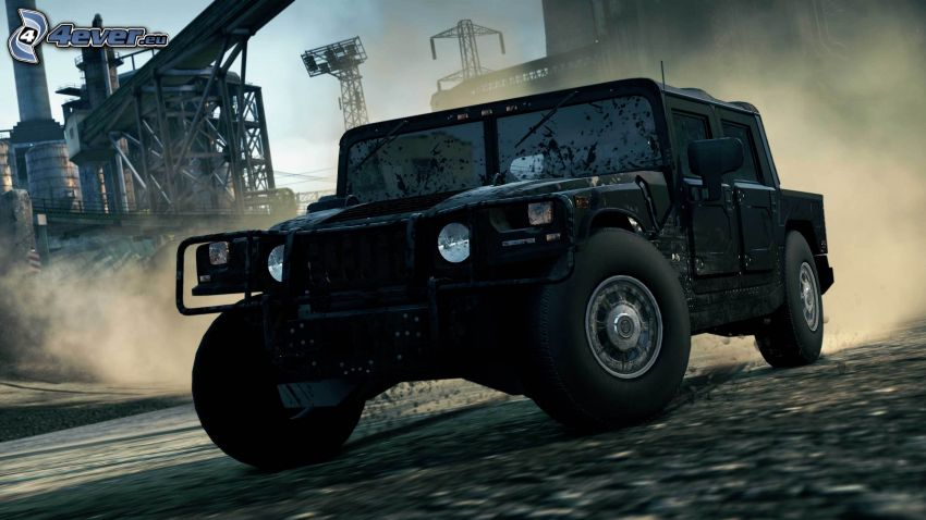 Need For Speed - Most Wanted, Hummer H1