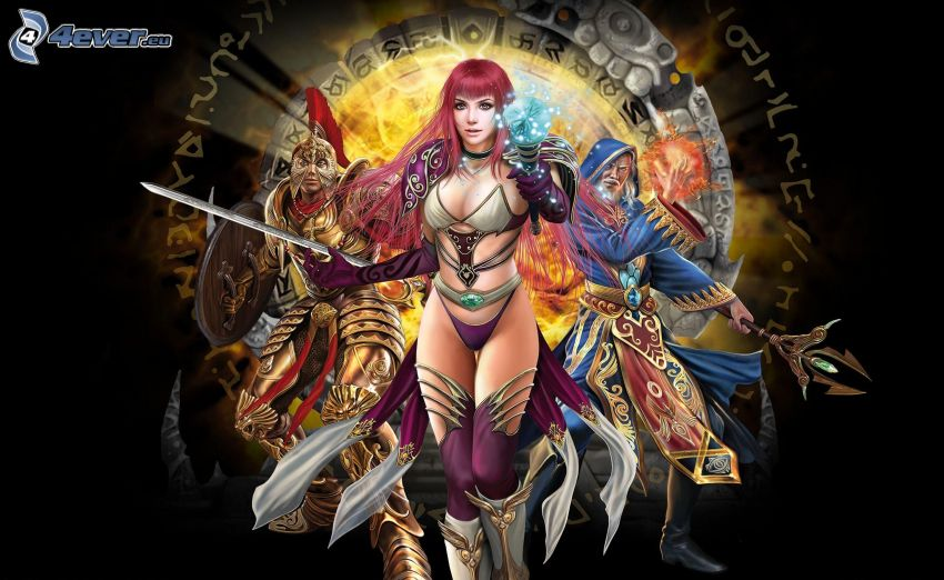 Runes of Magic, czarownica