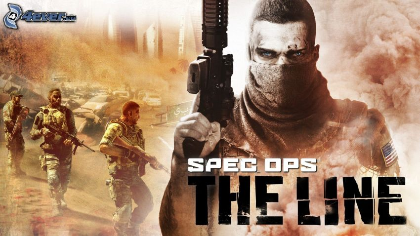 Spec Ops: The Line, żołnierze