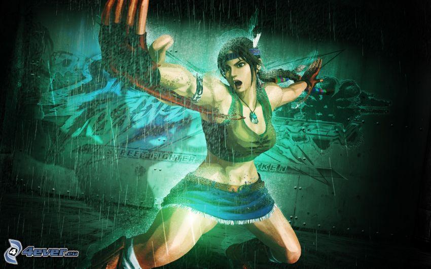 Street Fighter X Tekken, animacyjna dziewczyna