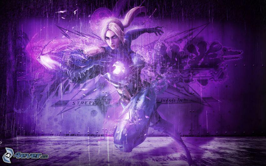 Street Fighter X Tekken, animowany wojownik