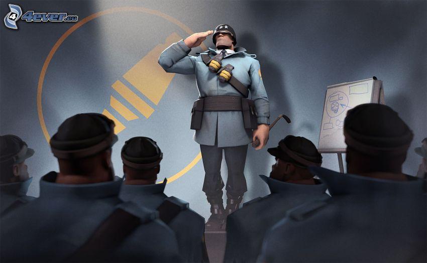 Team Fortress 2, żołnierze