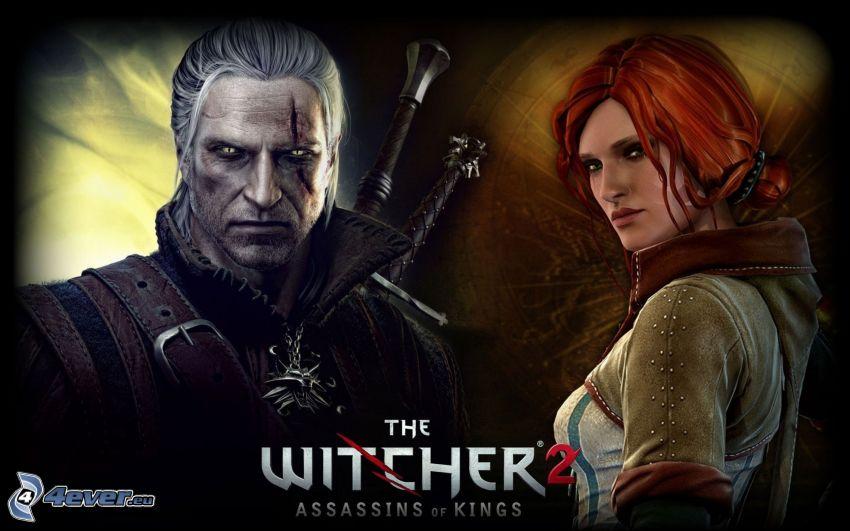 The Witcher 2: Assassins of Kings, wojownik, rudowłosa