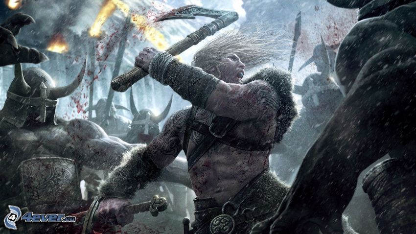 Viking: Battle for Asgard, wojownik