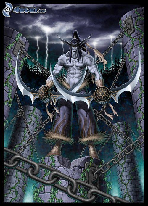 Warcraft 3, Ilidan