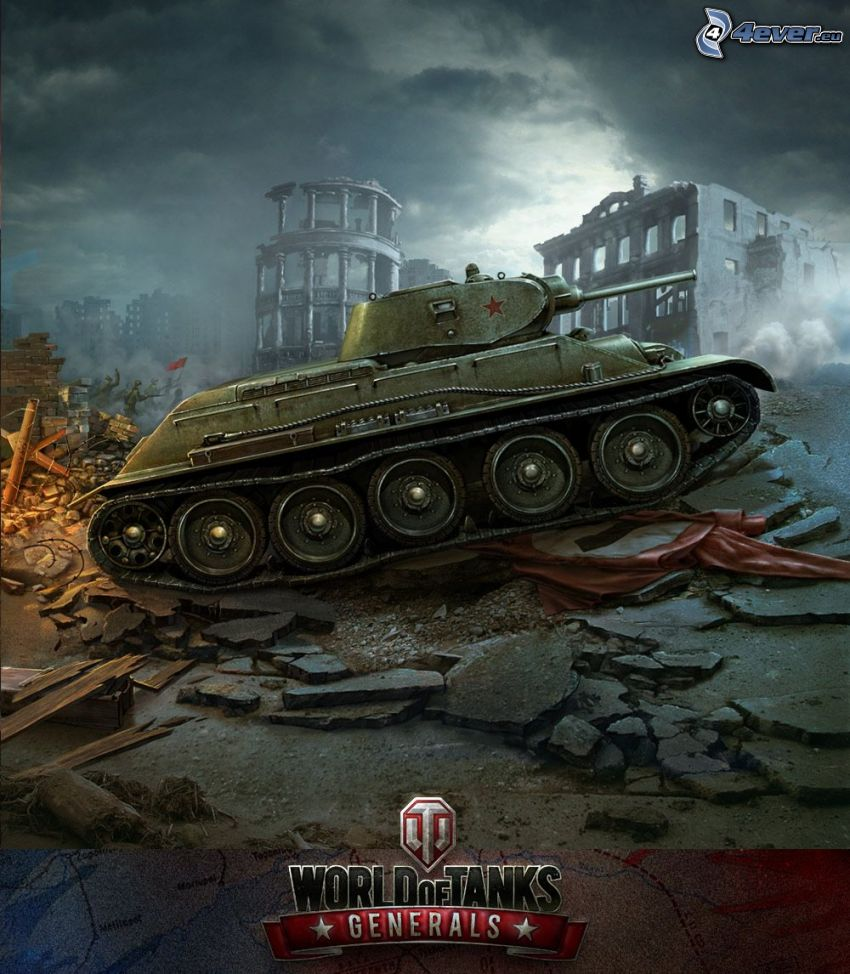 World of Tanks, T-34