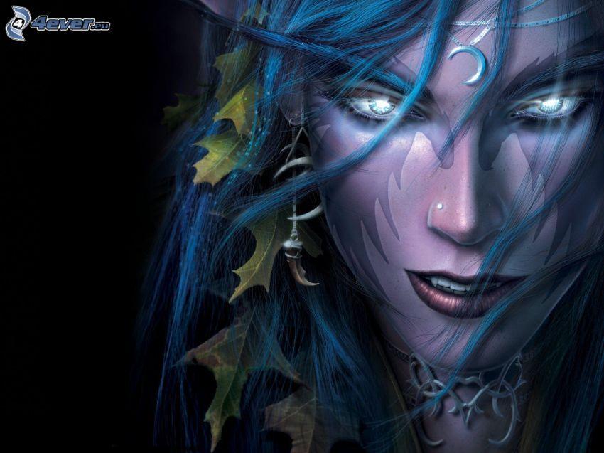 World of Warcraft, elf, gra komputerowa