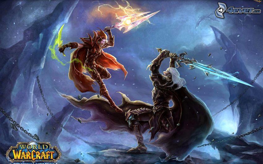 World of Warcraft, fantazyjni wojownicy