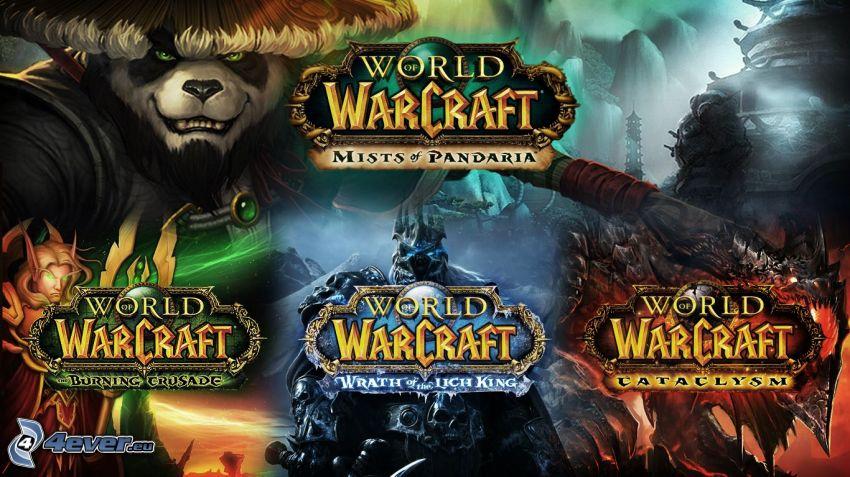 World of Warcraft, kolaż