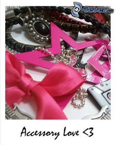 accessory love, akcesoria