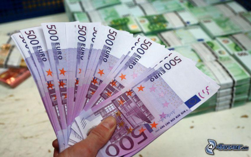 banknoty, pieniądze
