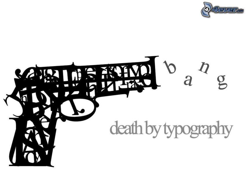broń, pistolet