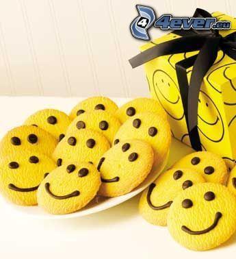 ciasteczka, buźki, cookies