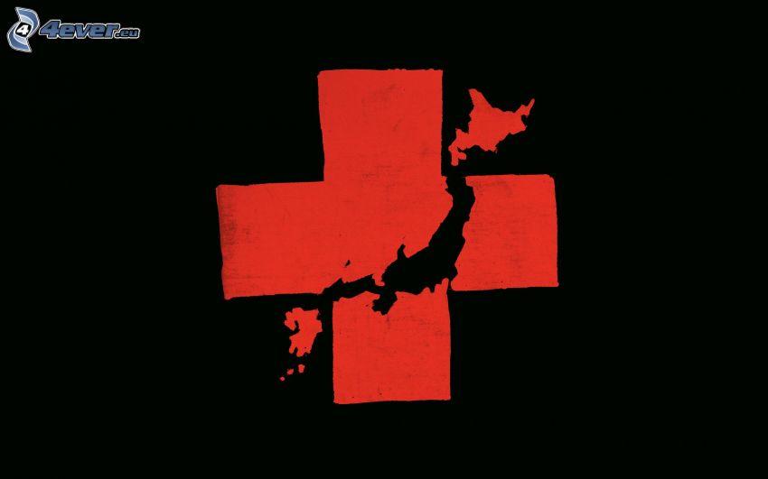Czerwony krzyż, Japonia