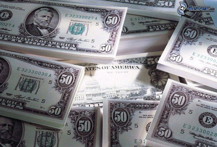 dolary, banknoty
