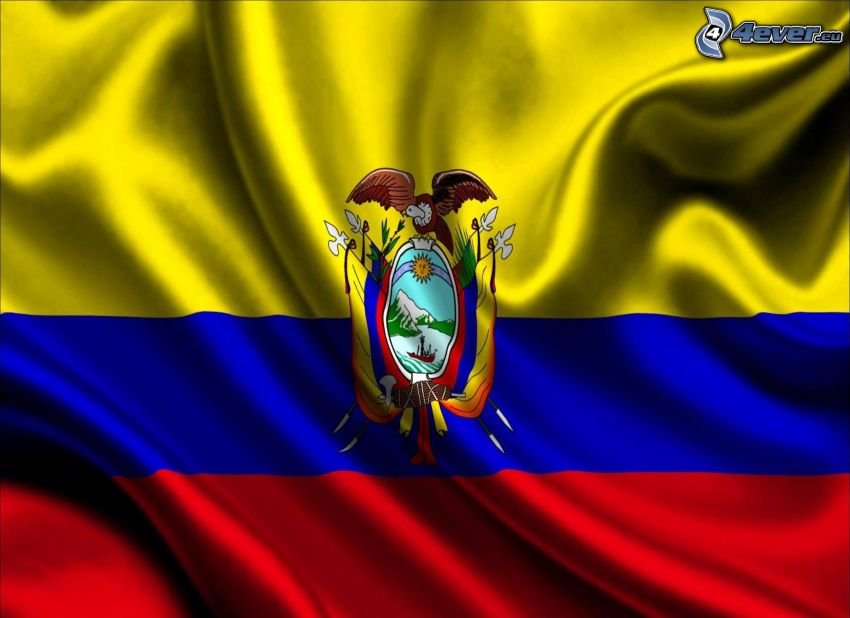 Ekwador, flaga