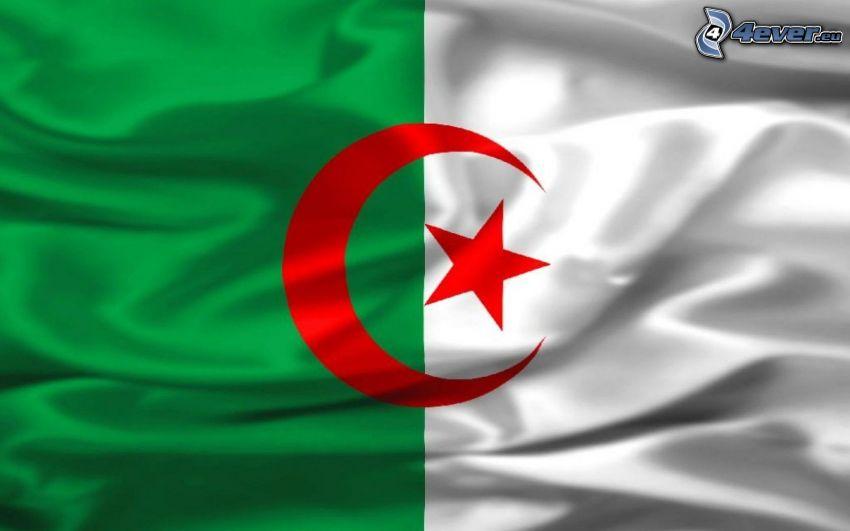 flaga, Algieria