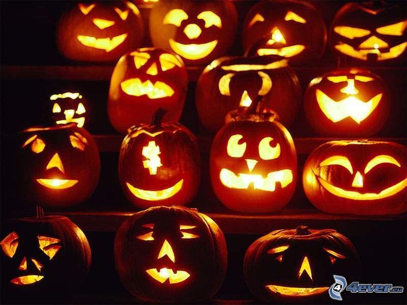 halloween dynie, jack-o'-lantern