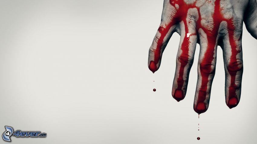 krwawa ręka