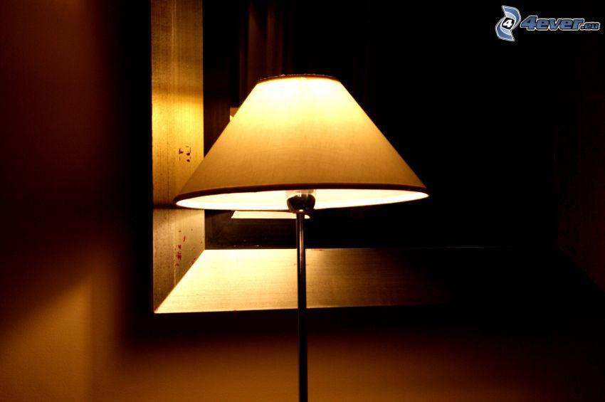 lampa, światło